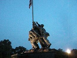 Iwo Jima Memorial, Geoff M - September 2011