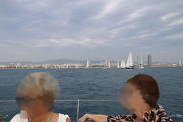 Photo of Barcelona Small-Group Mediterranean Sea Sailing Trip from Barcelona Wir sind leider nicht gesegelt!