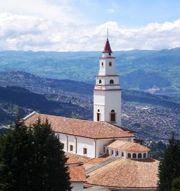 Santuario de Monserrate. , Liz - June 2015