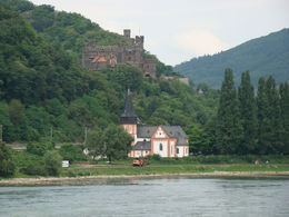 Photo of Rhine River KD Rhine Pass from Mainz Along the Rhein.