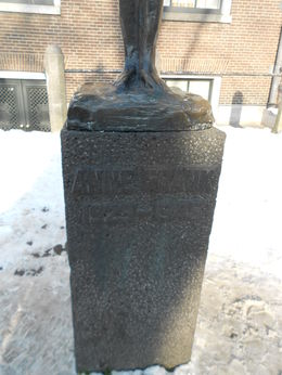Anne Frank Memorial , LAFRAGIA M - February 2013