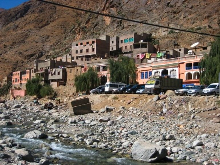 Berber Village in Atlas Mountains - Marrakech
