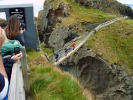 Photo of Dublin Northern Ireland including Giant's Causeway Rail Tour from Dublin Carrick-a-Rede Rope Bridge