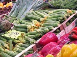 Photo of Rome Rome Food Walking Tour Courgettes!