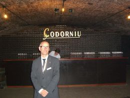 The Codorniu tour guide , DaNeener - April 2011