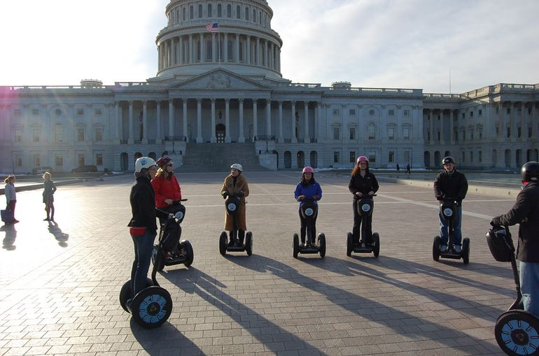 DC Segway - Capitol Building - Washington DC