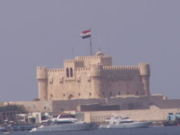Alexandria castle on the beautiful harbour front , Trine - March 2011