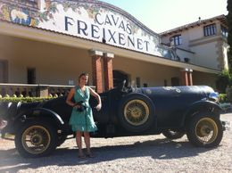 Photo of Barcelona Sitges and Freixenet's Cava Wine Cellars Day Trip from Barcelona Freixenet's Cava Wine Cellar