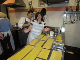Photo of Florence Tuscan Cooking Class and Dinner in Florence Fresh Egg Pasta!