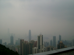 misty murky hong kong...still nice despite the weather, IAN M - October 2010