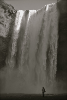 Great waterfall. - September 2010