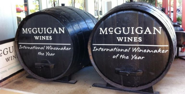 McGuigan Wines  and  Hunter Valley Cheese co. - Sydney