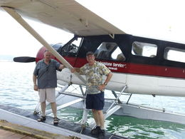 Beautifully maintained vintage seaplane and great pilot , Sharon R - November 2012