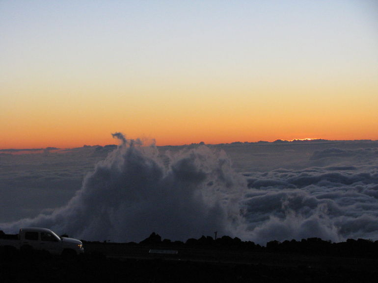 Sunset at Mt Haleakala - Maui