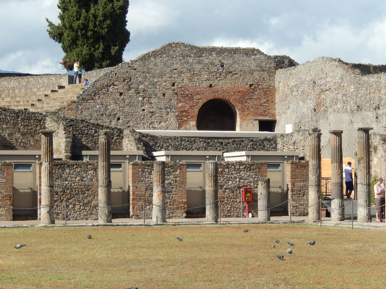 The ancient city of Pompeii - Rome