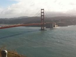 Photo of San Francisco Muir Woods and Sausalito Tour plus Bay Cruise The bridge on a clear day