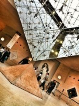Photo of Paris Paris L'Open Hop-On-Hop-Off Tour The inverted pyramid at the Louvre