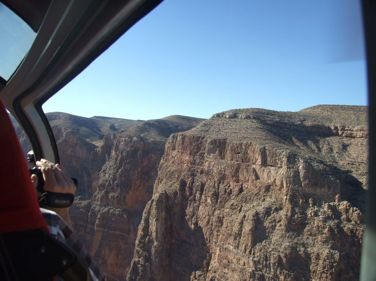 Top edge of Grand Canyon West Rim - Las Vegas