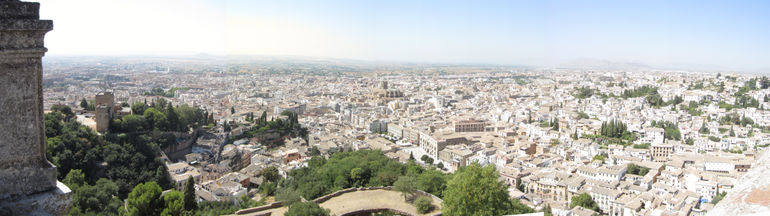 View from Alhambra tower - Granada