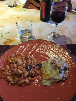 gnocci and lasagna with béchamel sauce!!! , kathleen s - July 2015