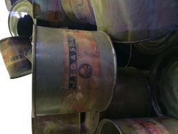 These cans of the gas used within the gas chambers are on display within the museum, very moving , Anna J - February 2015