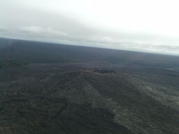 Photo of Big Island of Hawaii 2-Hour Big Island Helicopter Flight from Kona approach to a cinder cone