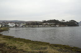 This is the view from our B and B Bedroom. Portree to the left. It was a 10 minute walk to town. Taken by D. Diego , D. Diego - May 2012