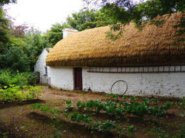 A traditional cottage in the Bunratty Folk Village. , Kevin F - August 2014