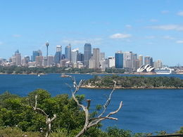 Photo of Sydney Sydney and Bondi Hop-on Hop-off Tour City view from Taronga Zoo