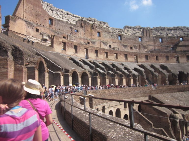 Colosseum inside view - Rome