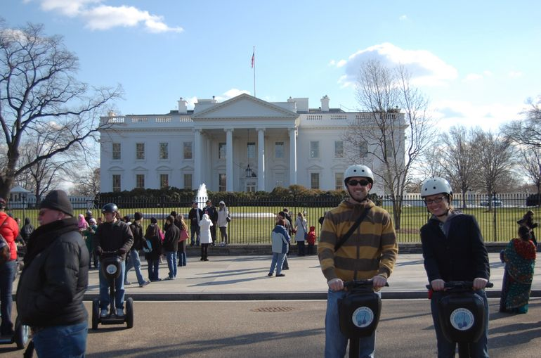 DCSegway - White House - Washington DC