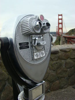 A quick stop at North Vista Point to admire the Golden Gate Bridge. , EUGENIA S - March 2012