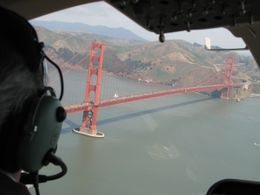 Photo of San Francisco San Francisco Vista Grande Helicopter Tour Getting close to the Golden Gate Bridge