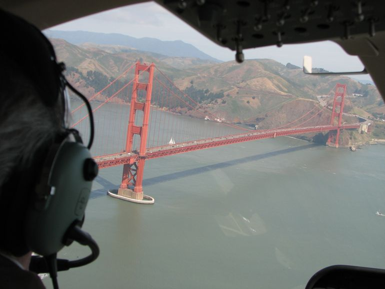 Getting close to the Golden Gate Bridge - San Francisco