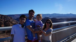 The stop at the Hoover Dam had an amazing view., Cutie Repolinos - October 2014