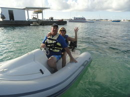 This is us on the jet ski-great fun!! , Nancy E G - December 2012