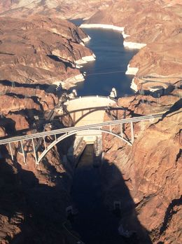Photo of Las Vegas Grand Canyon West Rim Deluxe Sunset Helicopter Tour Hoover Dam