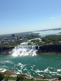 This was taken from the top of the Skylon Tower in Niagara Falls, Ontario, Canada. , Diane B - June 2014