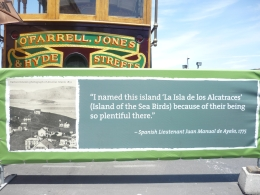 Photo of San Francisco Alcatraz Tour plus Muir Woods, Giant Redwoods and Sausalito Day Trip Sign