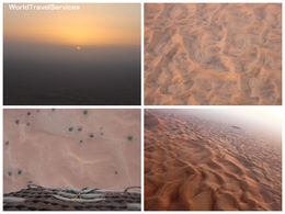 Photo of Dubai Dubai Hot Air Balloon Flight Sunrise and sanddunes