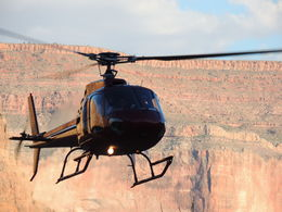 Photo of Las Vegas Grand Canyon West Rim Deluxe Sunset Helicopter Tour Sunset helicopter tour