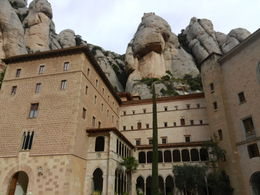 Photo of Barcelona Montserrat Royal Basilica Half-Day Trip from Barcelona tranquil surroundings of Monserrat