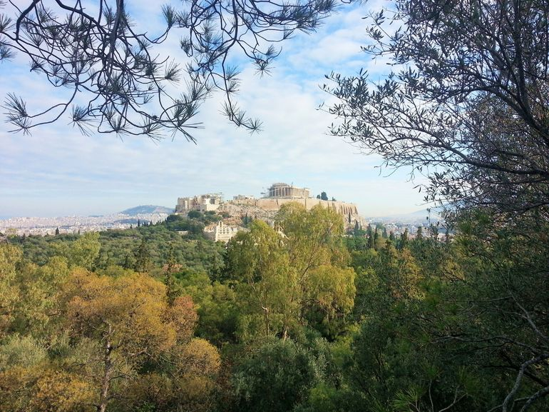 View of the Acropolis - Athens