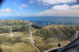 Photo of Wellington South Coaster Helicopter Flight from Wellington Wind Farm