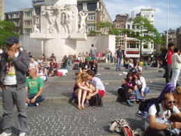 Photo of Brussels Amsterdam Day Trip from Brussels Amsderdam main square