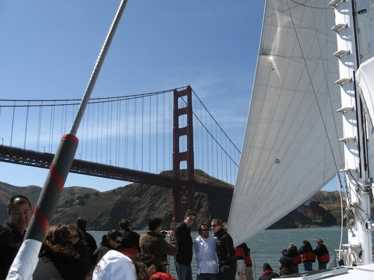 Another view of the Golden Gate Bridge, SF Bay cruise - San Francisco