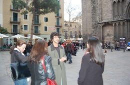 Photo of Barcelona Tapas Evening Walking Tour of Barcelona Back of the Cathedral