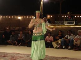 Photo of Dubai Private Tour: 4x4 Desert Adventure Safari from Dubai Belly Dancer