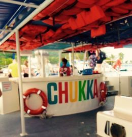 The very enjoyable, hilarious crew of the CHUKKA catamaran tour to Dunn's River Falls made this a most memorable event of our wonderful two week vacation to Ocho Rios, with Viator Tours. , JOVIT M - August 2015