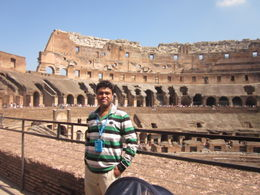 Photo of Rome Skip the Line: Ancient Rome and Colosseum Half-Day Walking Tour Colosseum inside
